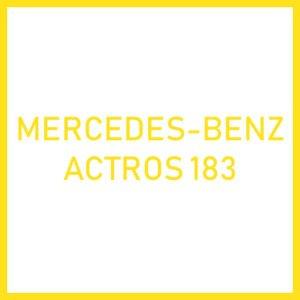 Фильтра для Mercedes-Benz ACTROS 183